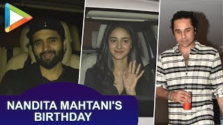 CELEBS SPOTTED at Nandita Mahtani's birthday party - HUNGAMA