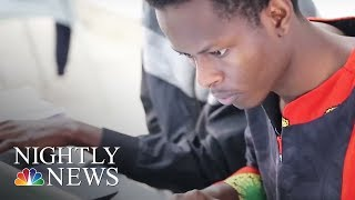 A school in Kenya is producing the next generation of engineers | NBC Nightly News - NBCNEWS