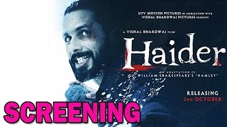 Haider Movie | Bollywood's top Directors at Haider Screening! | Bollywood News