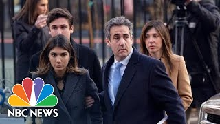 Former Trump Lawyer Michael Cohen Sentenced To 3 Years In Prison After Guilty Plea | NBC News - NBCNEWS