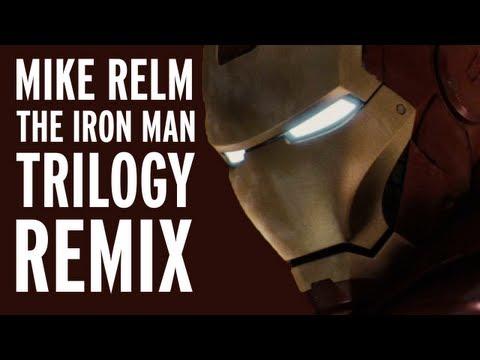 Iron Man trilogy remix