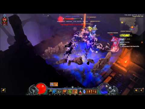 Diablo 3 T6(60) - WD Starmetal Kukri Control Physical damage build