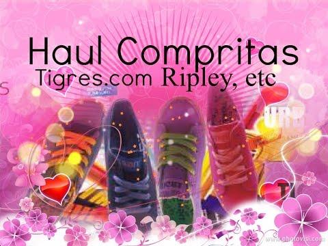 Haul zapatillas y más ( Tigres.com, Ripley,etc)