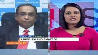 Earnings Edge: Revenues Gone Up By 5%: Ashok Leyland - BLOOMBERGUTV