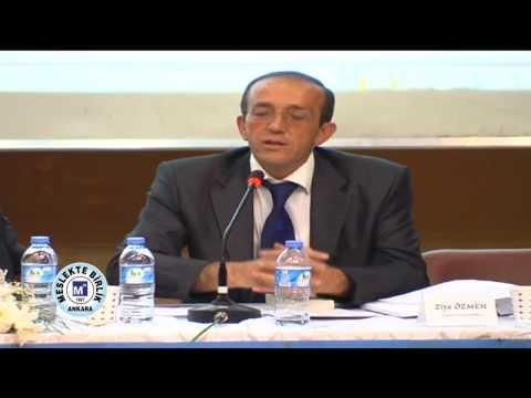 1 Kasım 2012, TTK Semineri Ziya ÖZMEN Sunumu