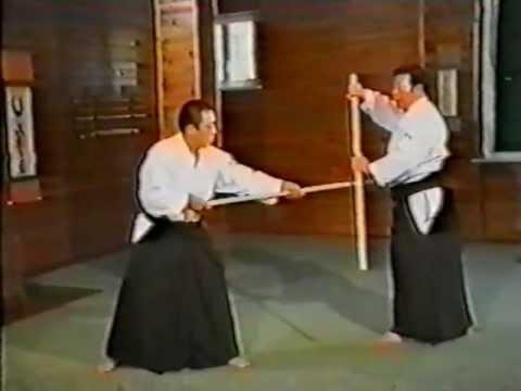 Morihiro Saito 20 jo suburi  31 jo Kata 31 Kumi Jo