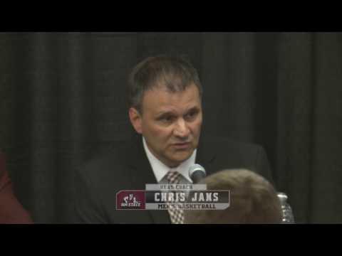 New NM State head MBB Coach Chris Jans