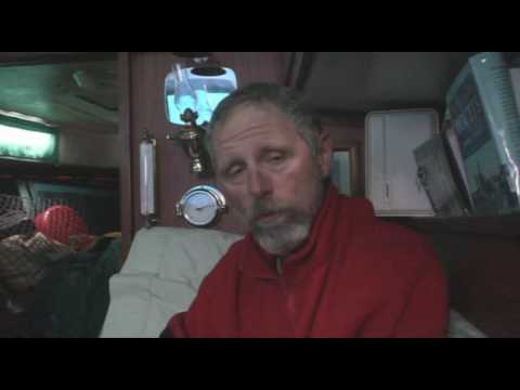 Sailing Across the Pacific Day 27 Red Shirt Monologue 4 With Cat