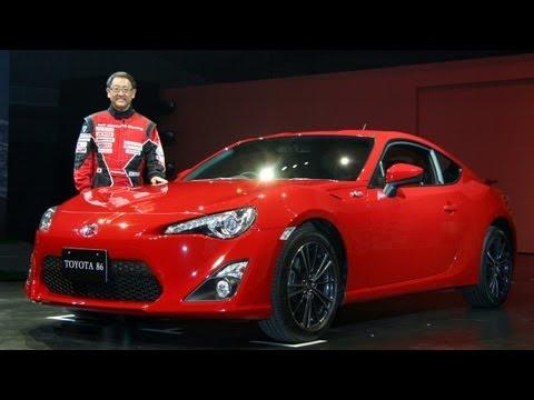 トヨタ86 新型スポーツカー発表