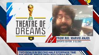 Theatre of Dreams: Brazil go past resolute Costa Rica - ZEENEWS