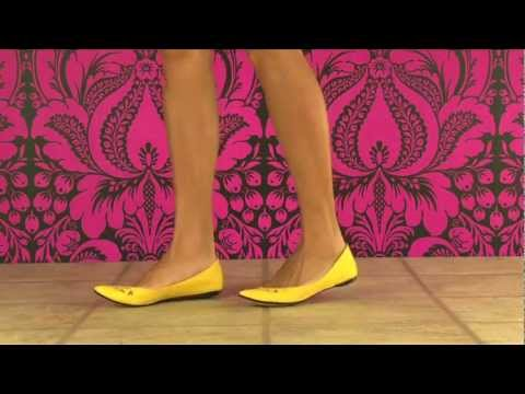 Sam Edelman Delancy Flat in Mustard
