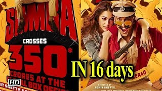 Ranveer's 'Simmba' collects Rs 350 crore globally in 16 days - BOLLYWOODCOUNTRY