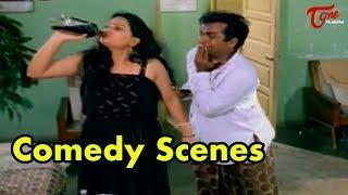 Brammanandam And Jaya Prakash Reddy Comedy Scenes || TeluguOne - TELUGUONE