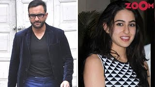 Saif Ali Khan's Take On Daughter Sara Ali Khan's Bollywood Debut - ZOOMDEKHO