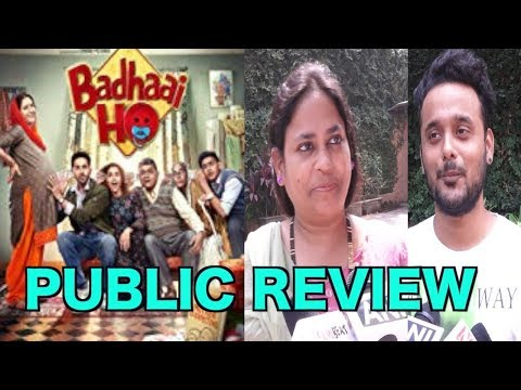 Badhai Ho Movie Public Review | Ayushmann | Sanya | | New Hindi movie | new movies 2018