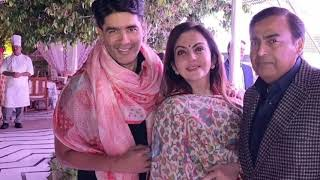 कितना आलिशान था ईशा का संगीत | Isha Ambani's Sangeet, and Pre-Wedding festivities All Inside Pics - ITVNEWSINDIA