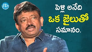 RGV's Definition of Divorce | RGV About  | Ramuism 2nd Dose | iDream Telugu Movies - IDREAMMOVIES