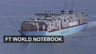 The world biggest container ship