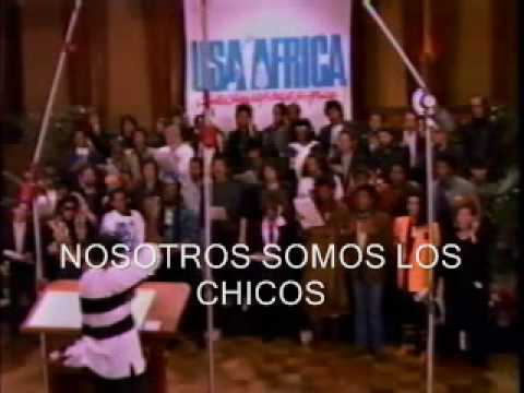 We are the world - Usa for Africa (subtitulos Español)