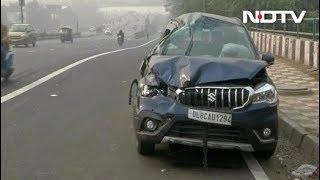 दिल्ली : नशे में धुत लड़की ने तीन गाड़ियों को मारी टक्कर, एक महिला की मौत - NDTVINDIA