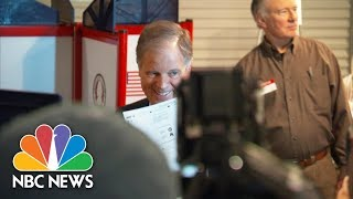 Alabama Senate Candidate Doug Jones Votes | NBC News - NBCNEWS