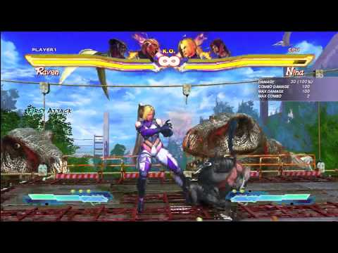 SFxT: Raven Cross Up Combo