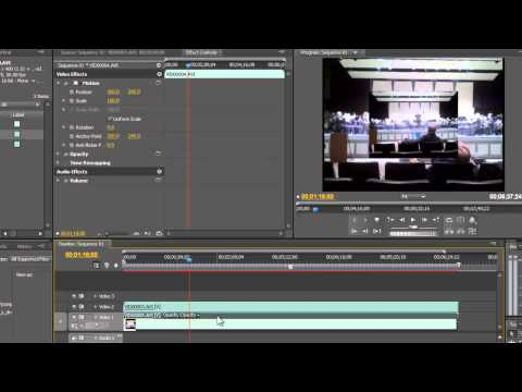 Split Screen Effect in Premiere Pro CS4