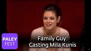 Family Guy - Casting Mila Kunis (Paley Center Interview) view on youtube.com tube online.