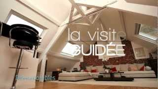 VISITE D\'UN APPARTEMENT NORMAND SOUS COMBLES ! - YouTube