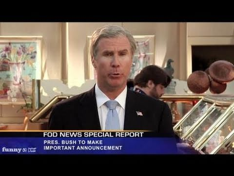 President Bush Reacts to Osama Bin Laden's Death with Will Ferrell --OixyPUNHmU