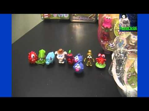Moshi Monsters Moshlings Series 6 Opening 3 Blister Packs