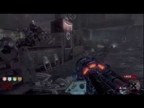 Call of Duty Black Ops Zombies Kino Der Toten Round 80 Solo