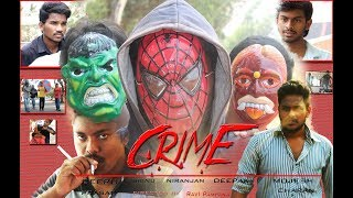CRIME /telugu short film trailer/by AD creations - YOUTUBE