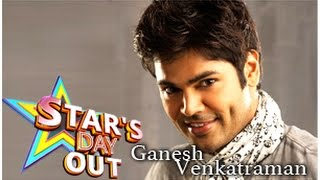 Actor & Model Ganesh Venkatraman in Stars Day Out 26-07-2014 Puthuyugam tv Show