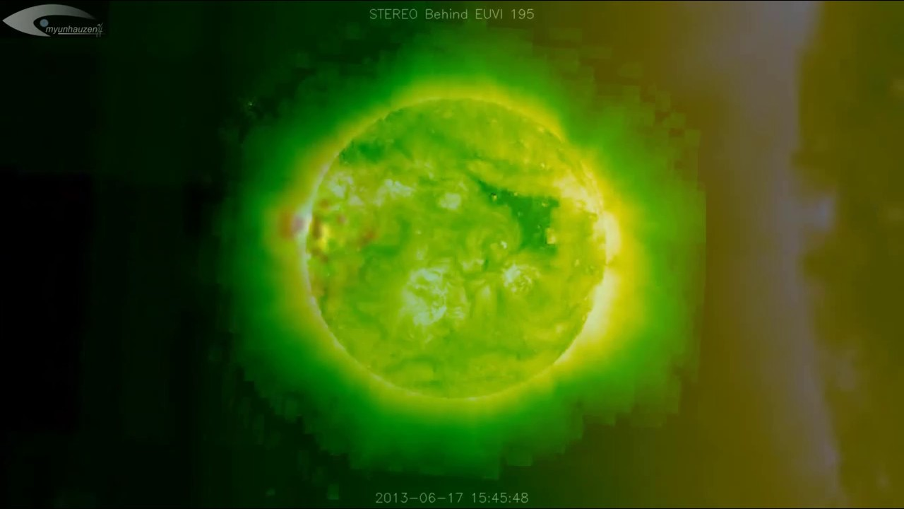 UFOs, Anomalies and holograms near the Sun - Review of NASA images of June 17, 2013
