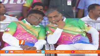 Minister Harish Rao Launches Premier League Cricket Tournament In Siddipet | iNews - INEWS