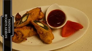 Spinach and Paneer Pakora..