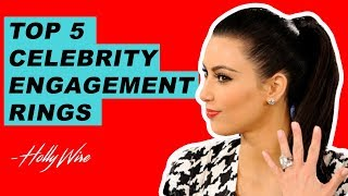 Kim Kardashian's Ridiculously Expensive Engagement Ring Tops Our List!! | Hollywire - HOLLYWIRETV