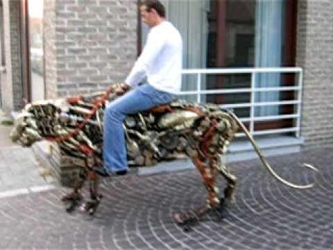 Mechanical Tiger in Brugge ..