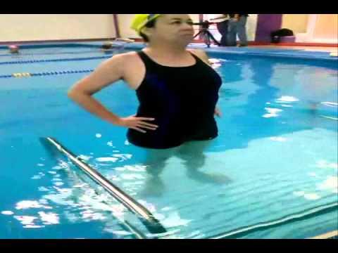 Actividades acuáticas sugeridas para Fractura de Tobillo