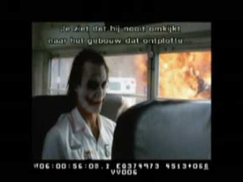 The Dark Knight - Deleted Scene (with The Joker)