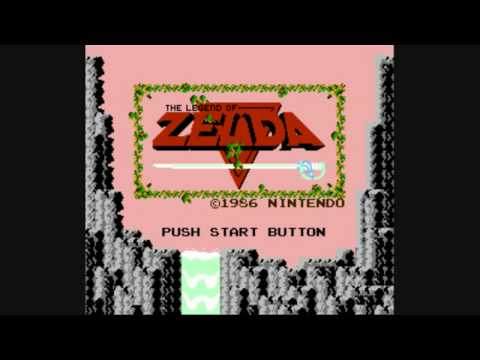 The Legend of Zelda NES Green Tunic guide (Quest I) part 1 (1/4)