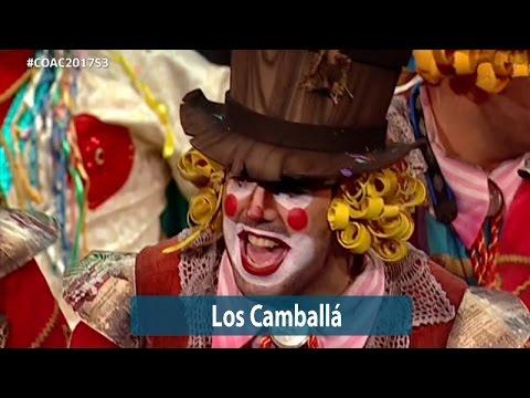 Sesión de Semifinales, la agrupación Los camballa actúa hoy en la modalidad de Comparsas.