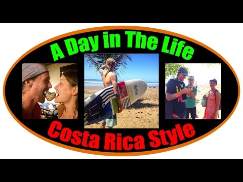 A Day in the Life, Raw Vegan, Costa Rica Style!