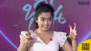 Rashmika Mandanna About Love & Marriage | Bheeshma Valentines Day Special Interview - TFPC