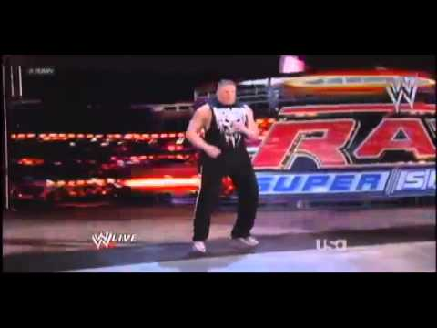 "WWE Raw 4/2/12 ""Brock Lesnar Returns 2012"""