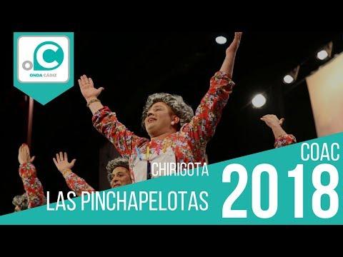 Sesión de Preliminares, la agrupación Las pinchapelotas actúa hoy en la modalidad de Chirigotas.