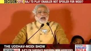 The Uddhav-Modi show - NEWSXLIVE