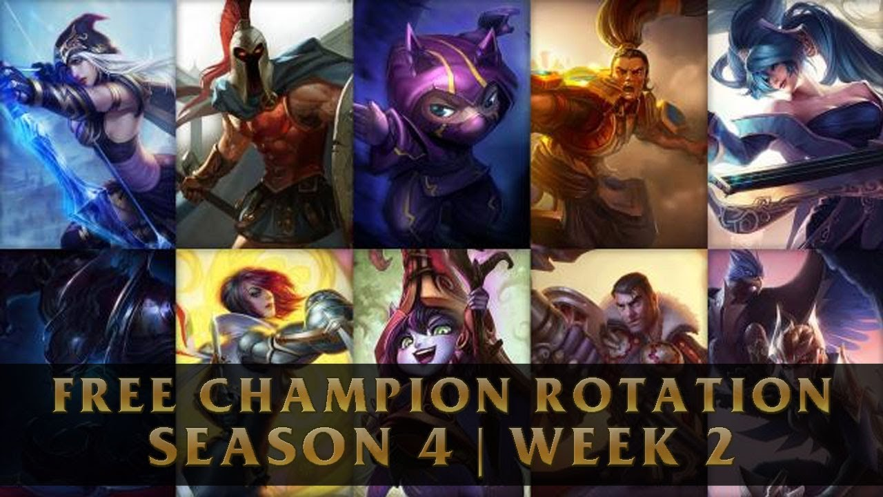 Free League of Legends Champions Season 4 | Week 2