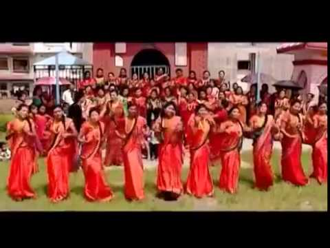 latest Nepali Teej Song 2014, Hatma Chura Layeko by Sarita Karki and Khuman Adhikari